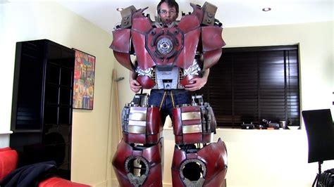xrobots iron man hulkbuster cosplay part walk