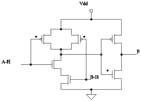 xor gate transistor level transistor level implementation of cmos combinational logic circuits