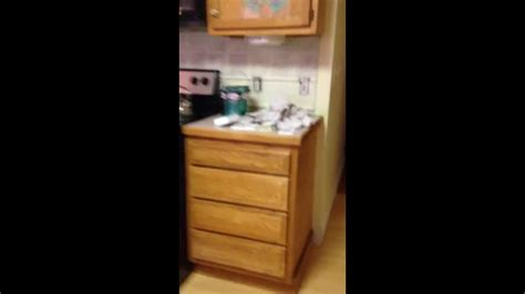 Paint Oak Kitchen Cabinets gel staining over finished wood kitchen cabinets part 1