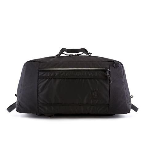 Tas Ransel Mountaineering 60l Ombg24bk topo designs mountain duffle zwart de ideale haul tas voor je gear