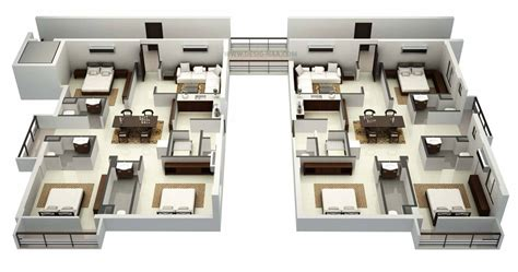 3d office floor plan 3d floor plan arch student