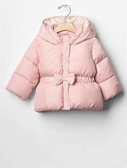 light pink puffer coat light pink puffer coat with adorable bow in front baby