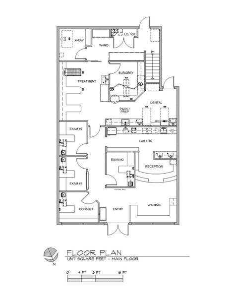 floor plan of hospital how to make the most of a small space animal arts
