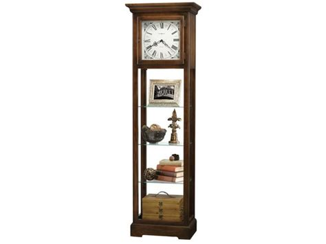 Curio Cabinet Wall Clock Le Rose Howard Miller Curio Cabinets Long Island