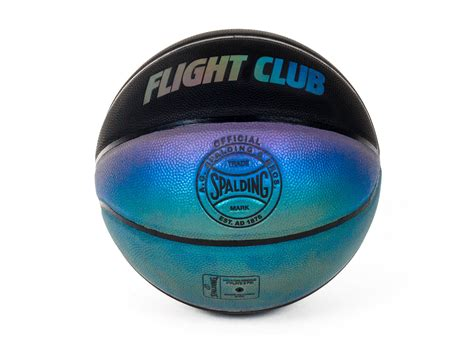 Flight Club Gift Card - flight club x spalding basketball black blue green iridescent
