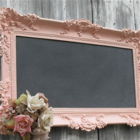 vintage wedding chalkboard shabby chic from revivedvintage on