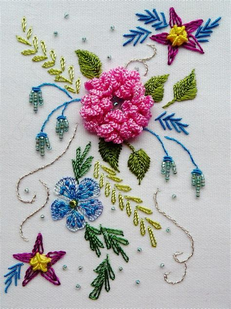 design for embroidery embroidered flowers embroidery pinterest
