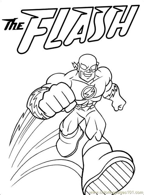 The Flash Superhero Coloring Pages Az Coloring Pages The Flash Coloring Pages