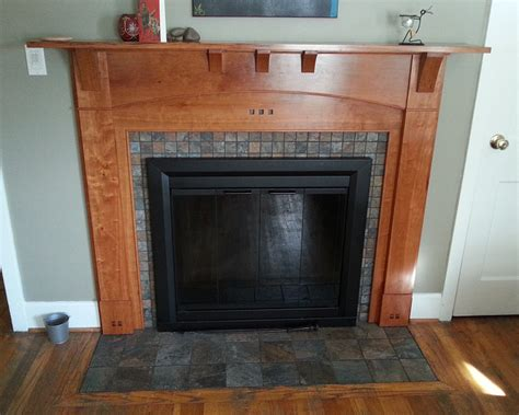 Arts And Crafts Fireplace Surround by Arts And Crafts Fireplace Surround Finewoodworking