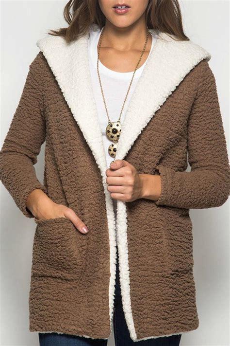 Fleece Coat she sky shearling fleece coat from kansas by seirer s