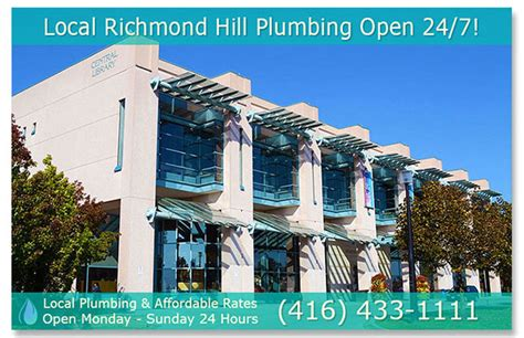 Richmond Hill Plumbers   (416) 433 1111   Local 24/7 Fast & AffordablePlumber.ca