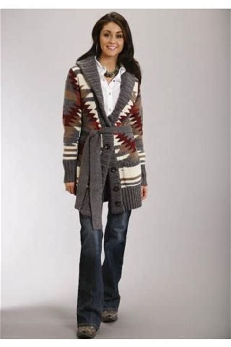 Colorful Knitted Sweater Sml western style sweaters