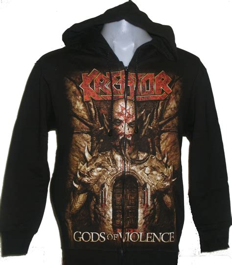 Jaket Zipper Hoodie Sweater God Of War 2 kreator jacket hoodie gods of violence size l roxxbkk