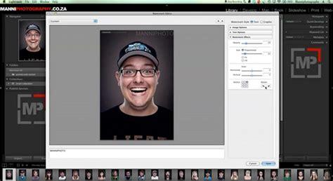 lightroom tutorial watermark tutorial editing adding a watermark in lightroom 4