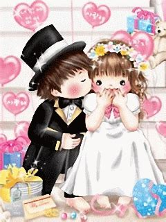 Lovelove Anime Wedding Animation by My Lovely Wallpapers Sweet