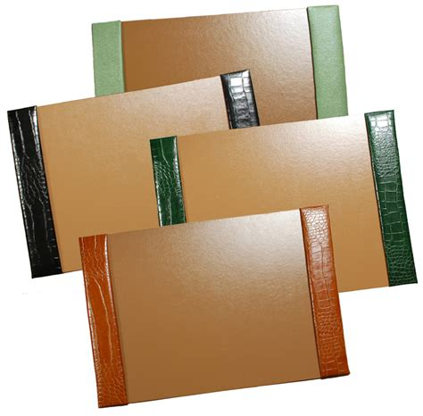 15x22 Reptile Leather Desk Blotters Desk Blotter
