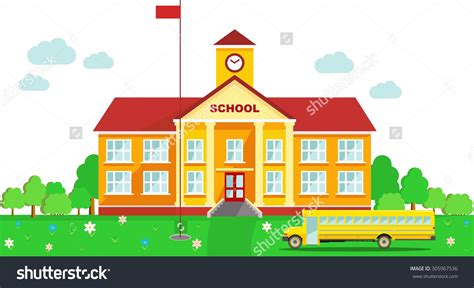 clipart school wallpaper clipart school building pencil and in color