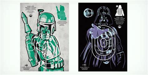 printable star wars targets the old reader