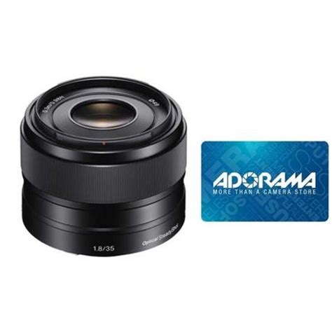 Nex Gift Card - sony 35mm f 1 8 oss e mount nex camera lens 50 adorama gift card from adorama com