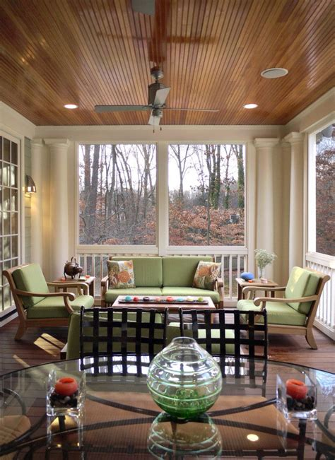 home furniture decoration dining rooms with beadboard stained beadboard ceiling porch traditional with glass