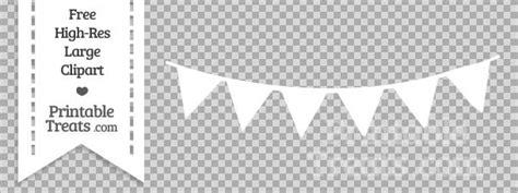 Bunting Flag Segitiga Mickeybendera Segitiga Mickeybanner Mickey white pennant bunting banner clipart printable treats