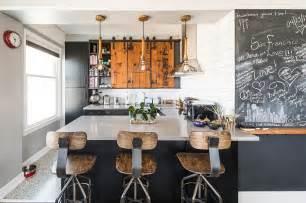 sliding kitchen cabinet 25 trendy kitchens that unleash the allure of sliding barn