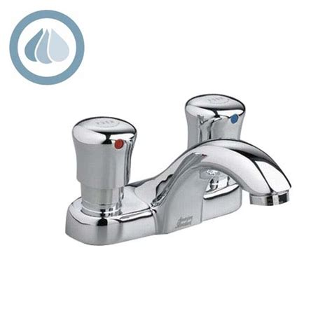 Auto Shut Faucet by American Standard 1340 225 Metering Centerset Faucet