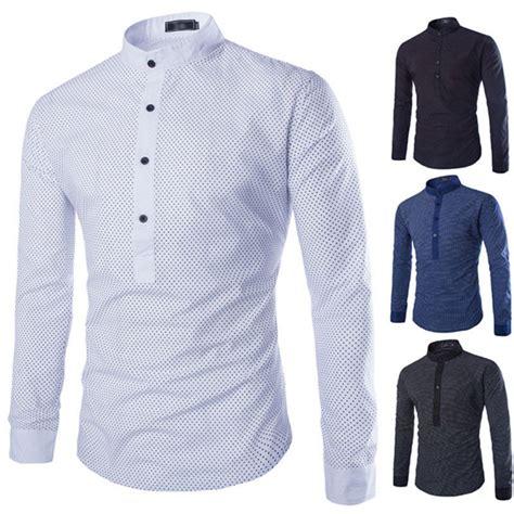 Sale Sweater Collar Colar Kerah new s classic kurta dress shirt popover shirt mandarin