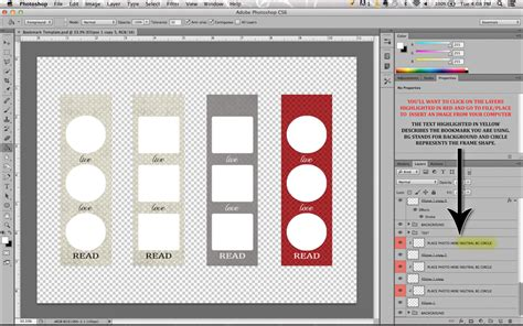 bookmarks templates for photoshop cropped stories 4 free customizable photo bookmarks to