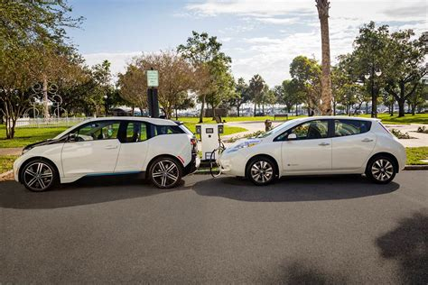 bmw and nissan working on nationwide ev fast charging network