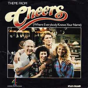 theme song cheers gary portnoy theme from quot cheers quot where everybody knows