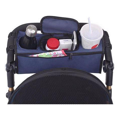 Kereta Dorong Bayi Graco tas perlengkapan stroller kereta dorong bayi gray white
