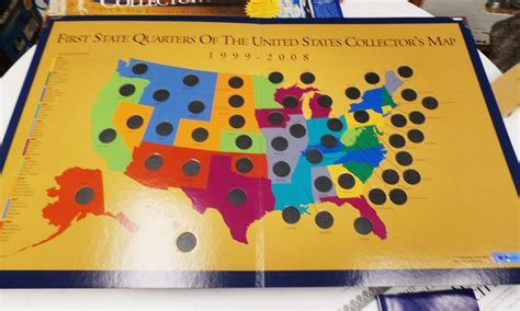 state quarters of the united states collectors map ideaplanet state quarters of the united states