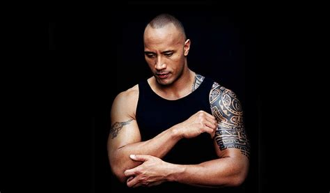 the rock tattoo design the rock the meaning of tattoos skin design