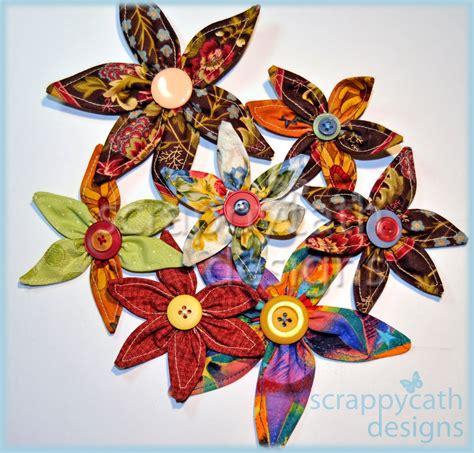 Fabric Origami Flowers - fabric origami flowers 171 embroidery origami