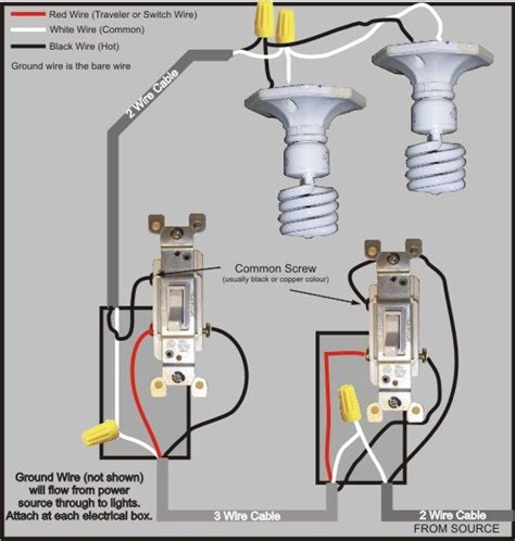 3 way wiring diagram options 3 get free image about