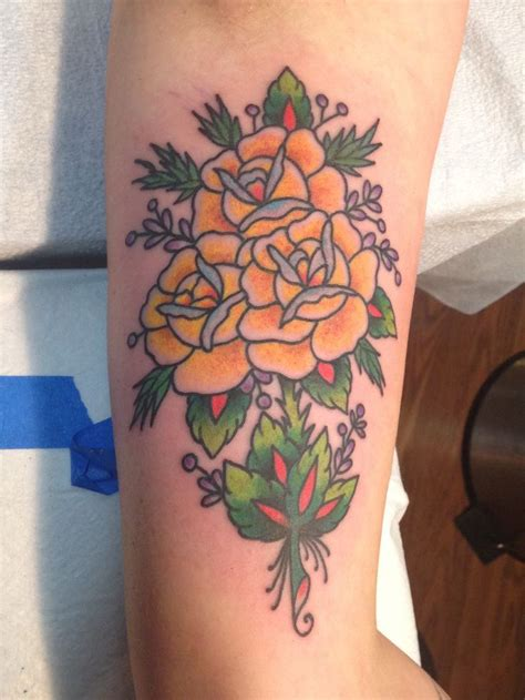 rose bouquet tattoo 17 best images about tattoos by purr on