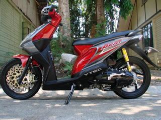 Modification Beat Merah by Modifikasi Honda Beat Macam Macam Gaya Oto Trendz