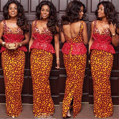 native and vogue 2015 bellanaija ankara lookbook 33 long gowns kamdora