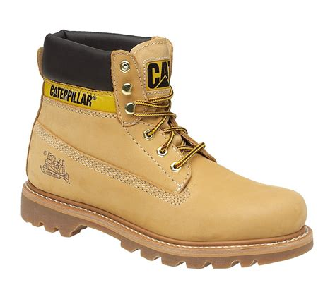 Caterpillar Safety Buck mens caterpillar cat colorado leather classic work walking