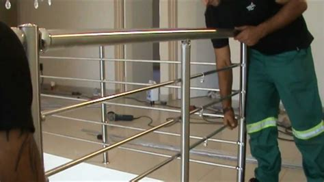 Stair Banister Rail Ezrails Diy Stainless Steel Balustrade Systems