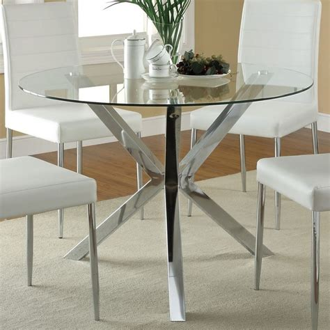 glass top kitchen table and chairs 25 best ideas about glass dining table on