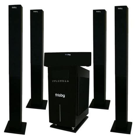 frisby wireless 5 1 surround sound home theater fs