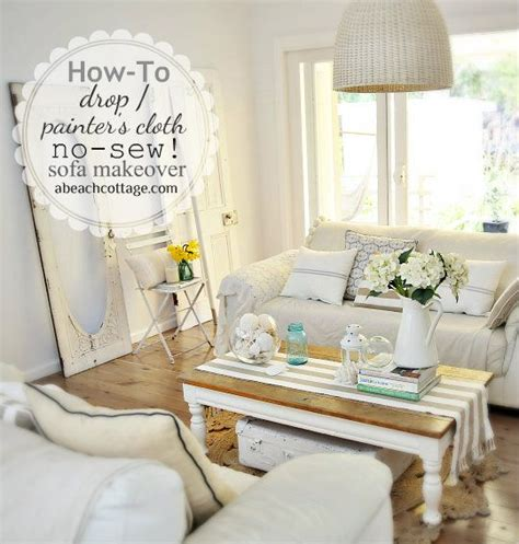 how to sew a couch cover 17 best images about drop cloth slipcovers on pinterest