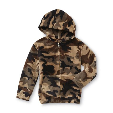 Camouflage Your Shopping by Toughskins Infant Toddler Boy S Hoodie Jacket