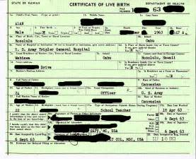 Real Birth Certificate Template by Nro No Real Obligation Salt And Light