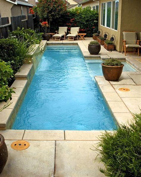 small lap pool mini pool for smaller yard lap pools pinterest