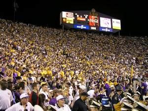 lsu student section photos