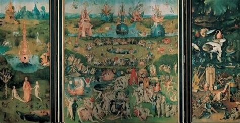 The Garden Of Earthly Delights Print by The Garden Of Earthly Delights 1503 04 Print Buy At
