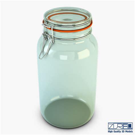 Porta Jar 10 Liter 3d model of jar hermetic 2 liter